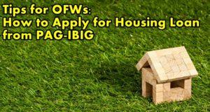 ofw housing loan