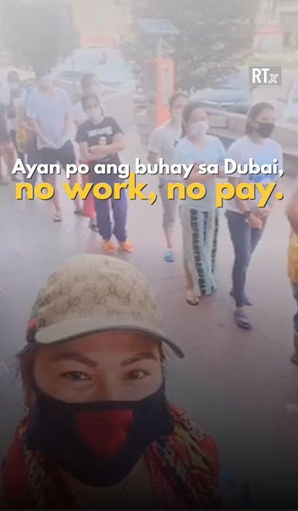 Pinay goes viral feeding jobless fellow OFWs Dubai